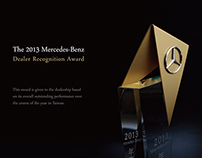 Trophy Design for Mercedes-Benz