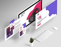 Maquettes UX/UI - Concept salle de sport