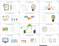 91+ commerce Infographic PowerPoint template