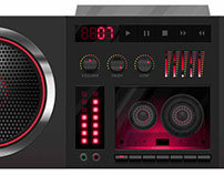 80s Stereo Concept