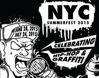 NYC SUMMERFEST 2015 (BRANDING)