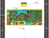 BAKU city GeoPlan
