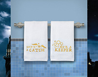 Harry Potter Bath Collection for Ukonic
