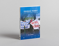'Troubled Transit' book cover design