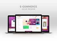 FOXY Ecommerce Site UX/UI Design Concept