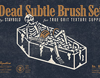 THE DEAD SUBTLE BRUSH SET