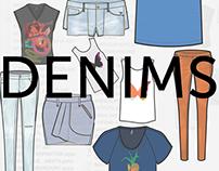 Sketches - Denims/Casuals market, 2012