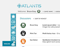 Project Atlantis | User Interface
