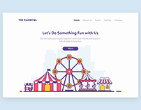 Carnival Landing Page
