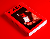 Fahrenheit 451 - BOOK COVER