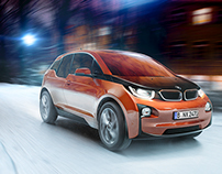 BMW i3 CGI making of