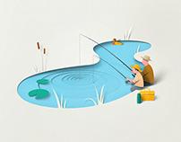 Breztri Aerosphere brand illustrations