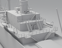 WW2 Cargo Ship Modelling