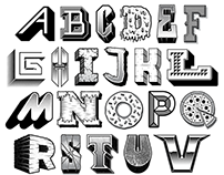 36 Days of Type 2017 - Letters A-Z