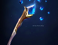 Stylized Gaming Weapon