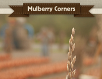 Mulberry Corners Website design