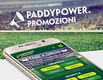Web Responsive Bonus Campaign - Paddy Power