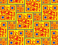 QR code visual experiments