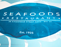 Seafoods Restaurant - Screen Print