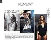 RUNWAY - Projeto Fictício