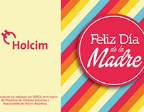 Tarjeta Día de la Madre - Holcim Argentina