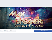 Facebook Cover Image for MaxBreaker. - DJ, producer
