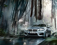 BMW M6 Matt Paint - Look creation and post production