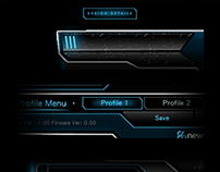 Newskill Gaming KIHON gaming mouse software GUI design