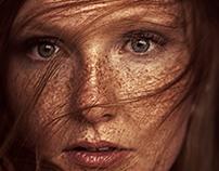 Redhead ... freckles