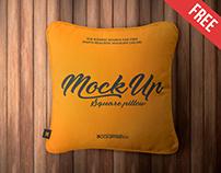 Square Pillow – 2 Free PSD Mockups