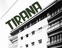 """TIRANA"" Font"