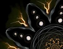 Yggdrasil symbolic mandalas