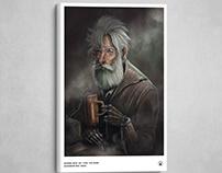 HOMELESS MAN - Illustration