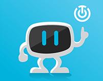 Logo & Mascote - CTECH Informática