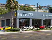 Ferrari of Newport Beach - New Showroom