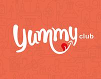 "Concepto para ""Yummy Club"""