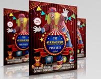 Circus Flyer Template