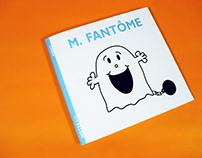 M. Fantôme - Invitation halloween