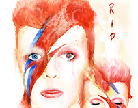 Rock in Peace Sir David Bowie