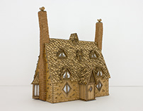 Shell Cottage Sculpture