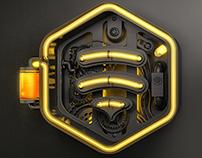 Netbee 3D logo