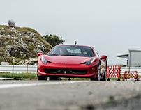 Race track car photography #1