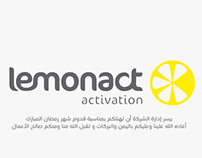 Ramadan greeting video for lemonact