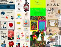 16 ediciones, Diseño de imagen. Nomada Market