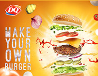 DQ Mack your own BURGER
