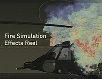 Fire Simulation Effects Reel