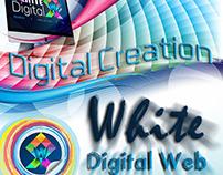 White Digital Web Flyer