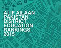 District ranking report for alif ailaan