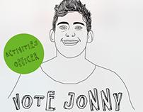 Jonny Harris Activities Officer Campaign