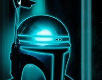 Star Wars/Tron Mashup
